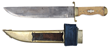 This rare, massive, and most recently discovered Henry Schively Bowie knife realized $80,500.