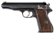 A phenomenal Walther MP/PP Blowback prototype pistol with shoulder stock lug realized $69,000.