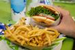 Elevation Burger in Houston