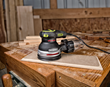 Rockwell's New Five Inch Random Orbit Sander With Vibrafree Technology  Shuts Down Vibration