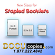 DocuCopies.com Adds Square Booklets and Other Sizes for Saddle-stitch Book Printing