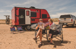 Sales of travel-trailers towable by a pickup or SUV grew 10% in February 2017. The Laughlins represent a trend.