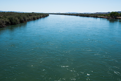Colorado River near Blythe, California