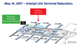 Interjet Terminal Relocation at LAX