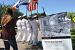 Texas A&M Galveston  Corps March on Holocaust Remembrance Day