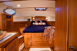 A true couples cruising boat the San Juan 40 rivals all the comforts of home.