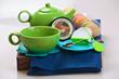 Cozy Connections Tea Time Basket
