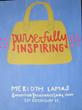 Purse-fully Inspiring