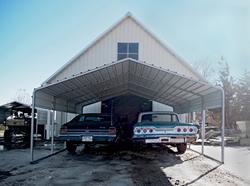 vehicle storage carport