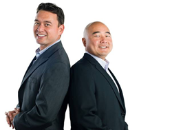 Thompson Tee co-founders Billy Thompson and Randy Choi