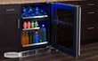 The new Marvel Professional Dual Zone Wine and Beverage Center allows you to store even more wine, food and beverages than any other model in its class.