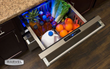 Quick-grip divider conveniently adjusts to organize and secure contents in the new Marvel Professional Refrigerated Drawers.