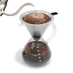 Pour over coffee maker by Coffee Gator