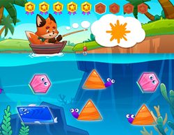 Go Fishing, a fun and exciting way for children to learn shapes and colors