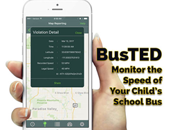 BusTED Phone App Monitors Speeding School Buses
