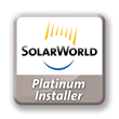 Green Solar Awarded SolarWorld Platinum Installer Status