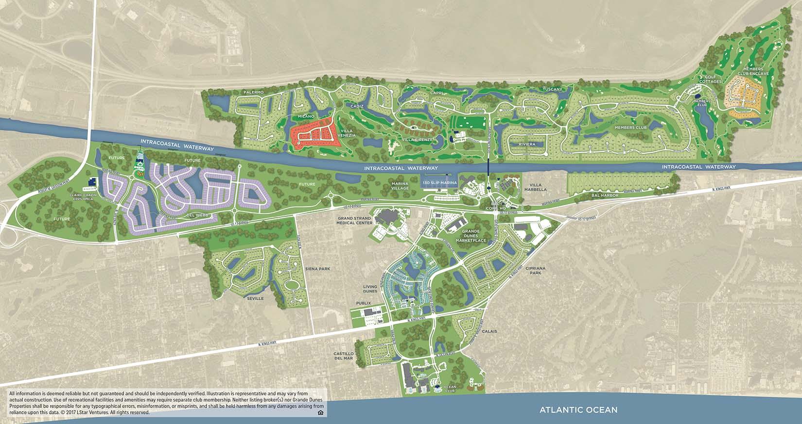Grande Dunes Masterplan Including Del Webb