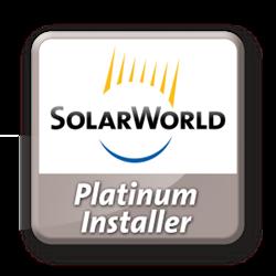 Logo Green Solar Technologies Solarworld Platinum