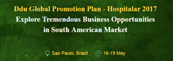 Welcome to Visit  Drugdu.com at #13-160A in Expo Center Norte in Sao Paolo, Brazil. Connecting buyers & supplier worldwide to explore South America Medical Devices Market.