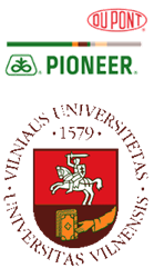 DuPont Pioneer and Vilnius University Logos