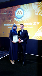 Sky Medical wins the national Medilink award for partnering with the NHS
