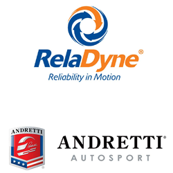 RelaDyne sponsors Andretti Autosports Indy Lights driver, Nico Jamin.