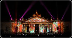 GDLUZ festival of light held in Guadalajara, Mexico