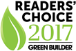 Green Builder Media Announces 2017 Readers' Choice Awards