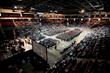 Husson University Commencement Ceremony at the Cross Insurance Center in Bangor, Maine.