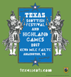 31st Annual 2017 Texas Scottish Festival Pipers
