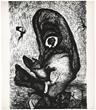 Enrico Donati original lithograph