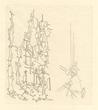 Yves Tanguy original etching