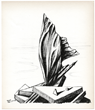 Kay Sage original lithograph