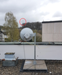 10 Gbps  wireless 1 km trace to Velbert city TV tower