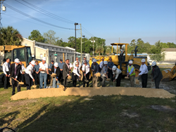 Gilbane breaks ground on new fire station