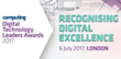 cleverbridge Named a 2017 Computing Digital Technology Leaders Awards Finalist