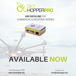 SkyHopper Pro - Bi-Directional Data Link for Commercial & Industrial Drones