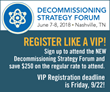 ExchangeMonitor Publications & Forums Announces the 2018 Decommissioning Strategy Forum