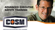 DVSC Offers Certified Occupational Safety Manager (COSM) Course June 5th- June 9th