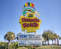 Pensacola Beach Iconic Sign