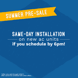 All Year Cooling Coupon summer presale