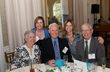 Joe Cooney (far right) and his family enjoying Calvary's Annual Spring Donor brunch at the New York Botanical Garden.