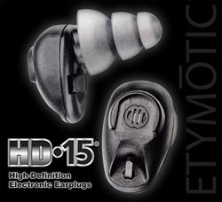 Etymotic's New HD-15 Elite Electronic Earplugs