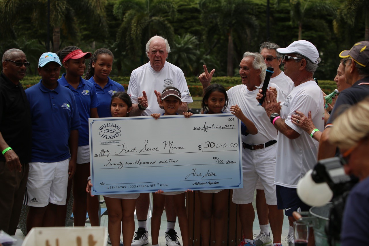 International Tennis Legend Fred Stolle Receives City of Aventura