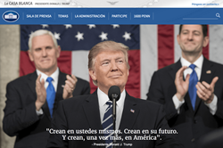 The White House Website Goes Live in Spanish as LaCasaBlanca.com