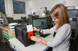 X-Rite Ci7800 helps students measure color of raw materials through final product.