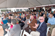 Nearly 300 guests gathered to celebrate the 35th Anniversary of Eva's Village and Volunteer Appreciation Week on April 23 in the courtyard at Eva's Village in Paterson, NJ.