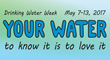Water Customers encouraged to care for pipes during Drinking Water Week