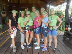 Journey Team Zip-Lines in Costa Rica