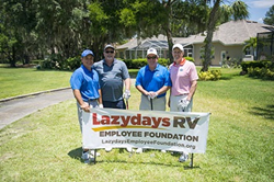 Lazydays RV Employee Foundation Golf Tournament